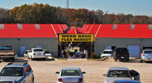 6 Winter Flea Markets In North Carolina To Enjoy All Season Long