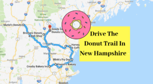Take The New Hampshire Donut Trail For A Delightfully Delicious Day Trip