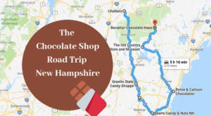 The Sweetest Road Trip in New Hampshire Takes You To 8 Old School Chocolate Shops