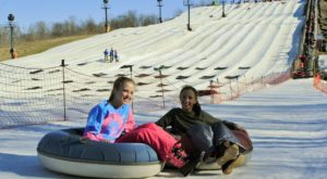 Indiana Is Home To The Country's Most Underrated Snow Tubing Park And You'll Want To Visit