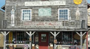 The Vintage Country Store In Indiana's Favorite Amish Town Has Two Floors Of Antiques