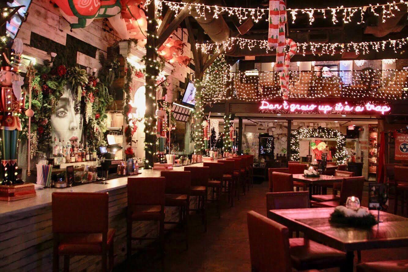 4 Christmas Themed Restaurants And Bars Around Nashville