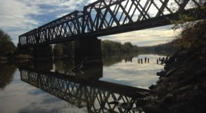 The Easy Rail Trail In Kansas That Takes You Right Along A Scenic River