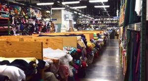 This Massive Fabric Warehouse In Massachusetts Is A Dream Come True
