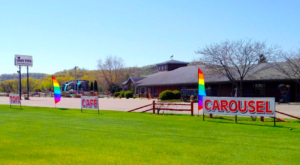 This Magical Minnesota Toy Store Is Home To An Incredible Hand-Carved Wooden Carousel