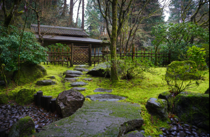 Oregon 39 s 412 acre washington park is full of attractions - Portland japanese garden free day ...