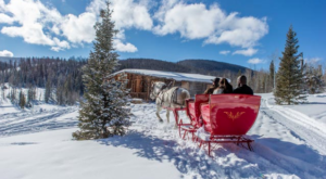 The Colorado Sleigh Ride That Takes You Through A Winter Wonderland