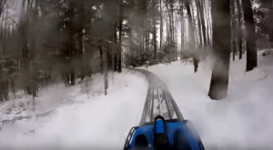The Winter Coaster In New Hampshire That Will Take You Through A Snowy Mountain Wonderland