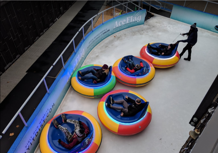 Ice Bumper Cars Is The Best Winter Activity In Buffalo