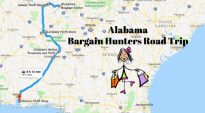 This Bargain Hunters Road Trip Will Take You To The Best Thrift Stores In Alabama