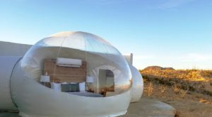 Sleep In A Bubble At This Unique Hotel In Texas