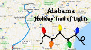Everyone Should Take This Spectacular Holiday Trail Of Lights In Alabama This Season