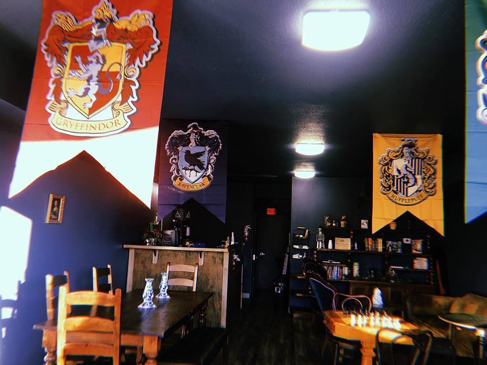 The Coffee Muggle Harry Potter Themed Coffee Shop In Texas