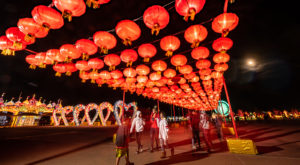 Enter A Dazzling Winter Wonderland At This Chinese Lantern Festival In Texas