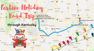 Turn Up The Christmas Music For This Festive Holiday Road Trip Around Kentucky