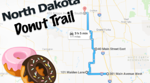 Take The North Dakota Donut Trail For A Delightfully Delicious Day Trip