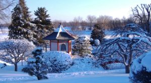 The Minnesota Garden That Is Beautiful Even Under A Blanket Of Snow