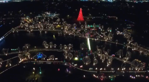 The Oklahoma Christmas Lights Display That's Been Named Among The Most Beautiful In The World