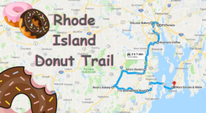 Take The Rhode Island Donut Trail For A Delightfully Delicious Day Trip