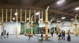 This Indoor Aerial Adventure Course In Connecticut Is Just What You Need This Winter