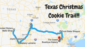 Texas' Christmas Cookie Trail Is The New Holiday Tradition Your Family Needs