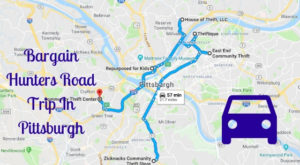 This Bargain Hunters Road Trip Will Take You To The Best Thrift Stores In Pittsburgh