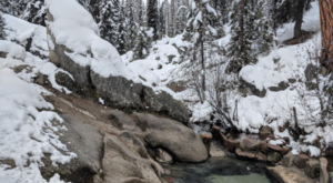 This Easy Hike Leads You Straight To The Dreamiest Mountain Hot Spring In Idaho