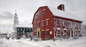 This Historic Restaurant In Rhode Island Has Not One But FOUR Fireplaces To Keep You Warm This Winter