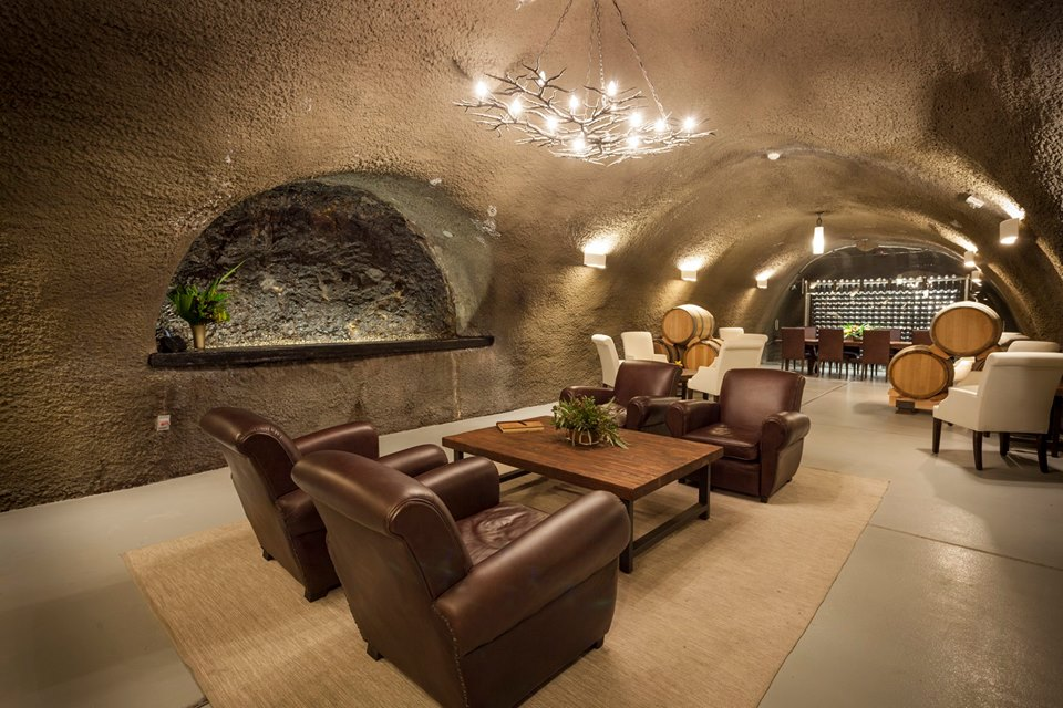 Archery Summit Winery In Oregon Has Natural Wine Caves