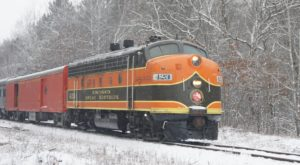 The Snow-Covered Train Ride In Wisconsin That's Wonderfully Magical