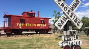 The Historic Train Depot In New Mexico That Will Bring Out The Kid In All Of Us