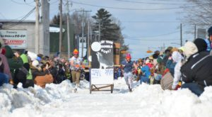 These Outhouse Races In Michigan Make For The Quirkiest Adventure You'll Have All Winter