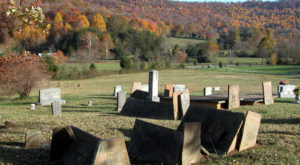 Most People Don't Know The Story Behind These Bizarre Tent Graves In Tennessee