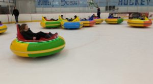 This New Jersey Ice Skating Rink Takes Bumper Cars To The Next Level