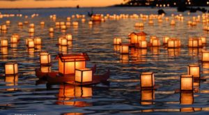 The Water Lantern Festival In Idaho That's A Night Of Pure Magic