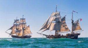 Climb Aboard These Historical Revolutionary War Era Ships That Are Sailing Into Northern California