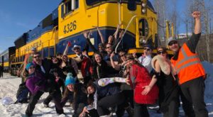 The Highly Anticipated Winter Train Trip Through Alaska You Can't Pass Up