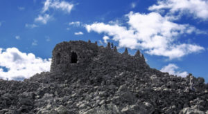 You'll Want To Visit This Remote Observatory In Oregon Made Of Lava Rock
