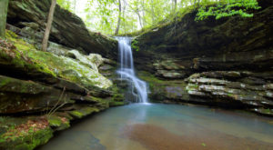 This Short Hike Takes You To Some Of The Most Beautiful And Underrated Waterfalls In All Of Arkansas