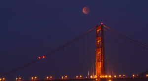 The Next Lunar Eclipse Will Be Visible From Northern California And You Won't Want To Miss Out