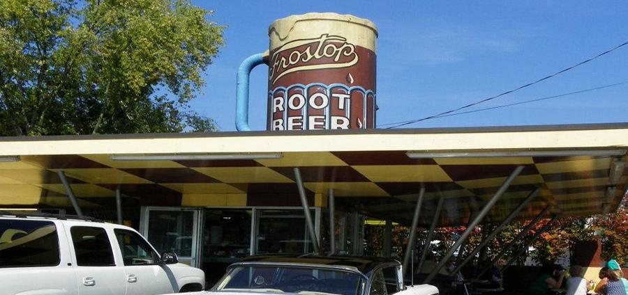 Frostop Drive-In Restaurant In Huntington West Virginia
