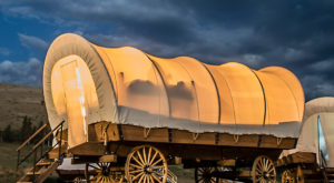 You Can Spend The Night In A Covered Wagon At This Unique Campsite In Northern California