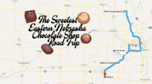 The Sweetest Road Trip in Nebraska Takes You To 8 Old School Chocolate Shops