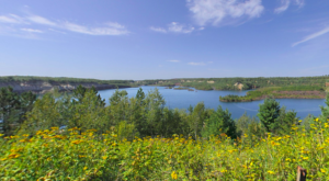 This Abandoned Mine In Minnesota Has Transformed Into A Natural Oasis