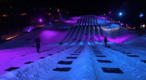 This Northern Lights Themed Tube Park Is The Winter Adventure In Virginia You Didn't Know You Needed