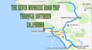This Scenic Road Trip Takes You To All 7 Wonders Of Southern California