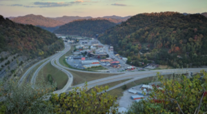 This Tiny Kentucky Town Literally Moved A Mountain In One Of The Largest Engineering Feats In The World