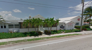 This Historic Florida Train Depot Is Now A Beautiful Restaurant Right On The Tracks