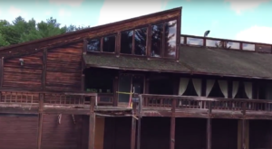 Everyone In Maine Should See What's Inside The Gates Of This Abandoned Resort
