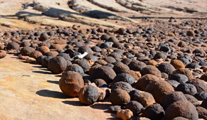 Moqui Marbles Are Oddities Of Nature Found In Southern Utah